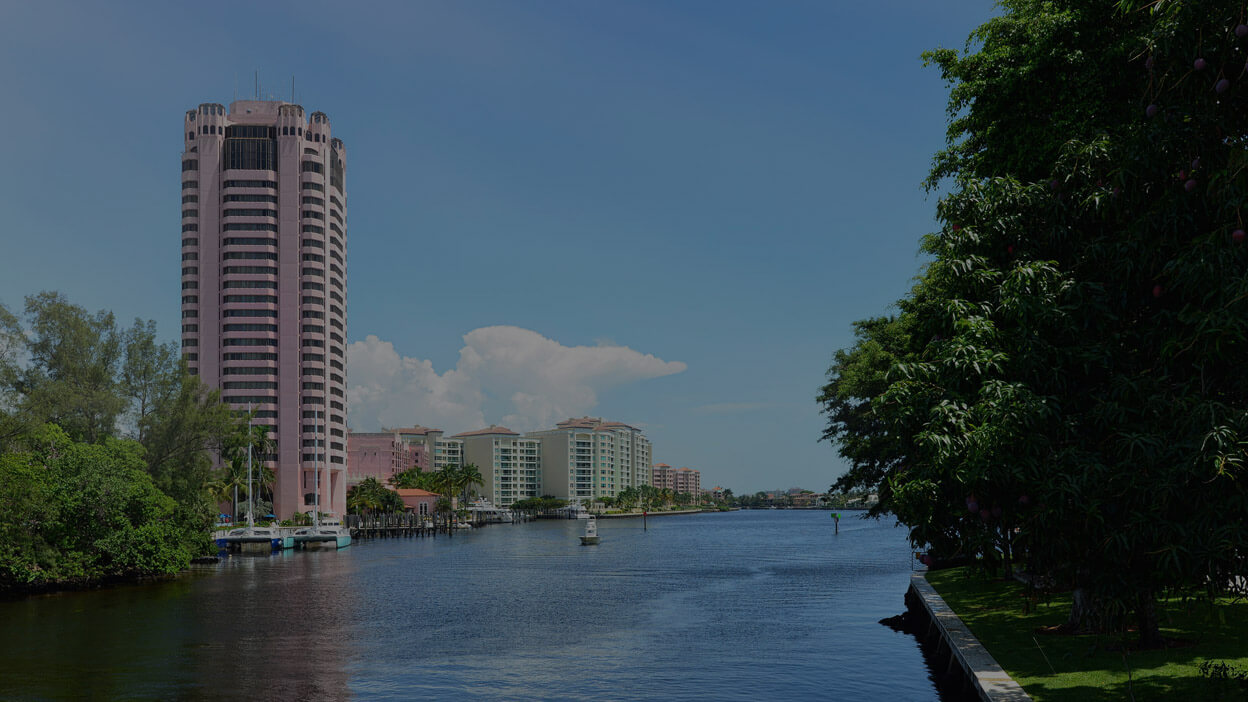 An image of the Boca Raton Hotel and surrounding Boca raton real estate, home to ASR Law Firm Title & Closings.