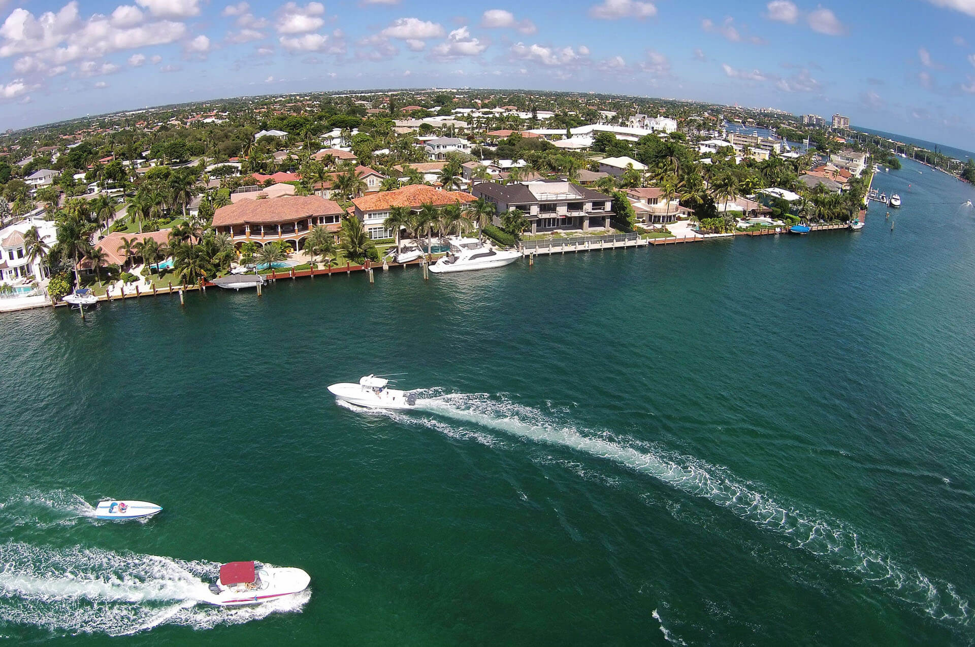 An image of South Florida Waterfront property similar to the real estate that ASR Law Firm helps with Title & Closing services. .
