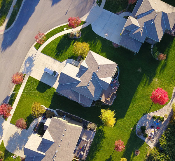 An image of a residential neighborhood that serves as the featured image for Florida Title insurance and why it is important.
