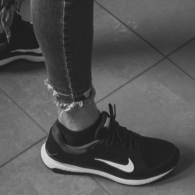 Image of Nike Shoes that serves as an example as to what a trademark is in the United States.